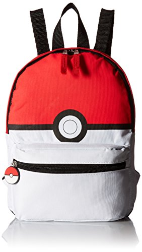 Pokemon Pokeball Mini Backpack, red and ()