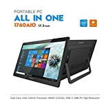 iView 1760AIO All in One Computer/Tablet, 17.3' IPS 1920 x 1080 Touch Screen, Intel Apollo Lake N3350 CPU, 4GB/32GB (Upgradable), Windows 10, WiFi 2.4/5GHz, Front Camera, Wireless Keyboard & Mouse