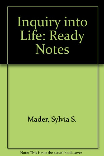 Inquiry into Life: Ready Notes