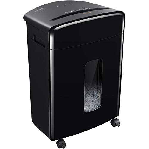 Bonsaii 20-Sheet Heavy Duty Cross-Cut Paper/CD/Credit Card Shredder with 6.6 Gallon Pullout Basket and 4 Casters
