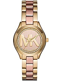 Women's Mini Slim Runway Gold-Tone Watch MK3650