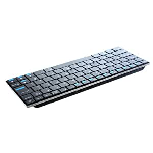 84 Keys QWERTY Rii Mini i9 Ultra Slim Bluetooth Wireless Keyboard for PC HDPC TV