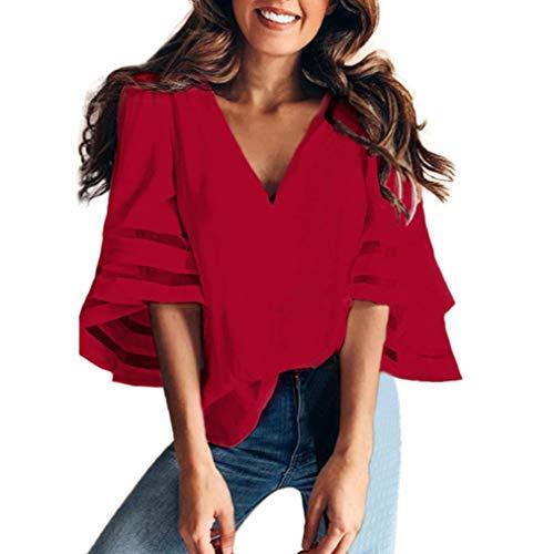 Hot Sale!Rakkiss Women Blouse T Shirt Tee O Neck Tops Short Sleeve Sweatshirt Pullover Top ()