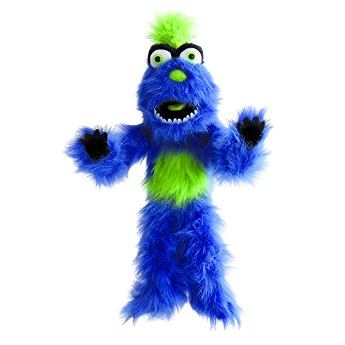 (The Puppet Company Blue Monster Hand Puppet )