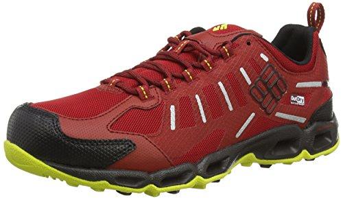 Columbia VENTFREAK OUTDRY« - zapatillas de trekking y senderismo de material sintético hombre Rojo Rot (Rocket/Negro 677)