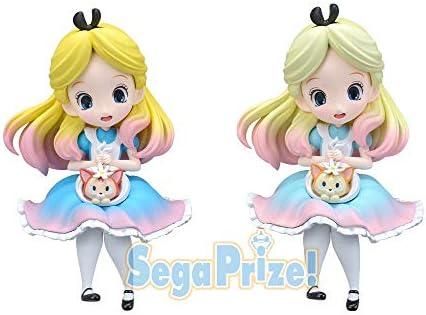 Alice premium Figure 2 set SEGA Disney Characters Sprinkles Sugar Pink ver