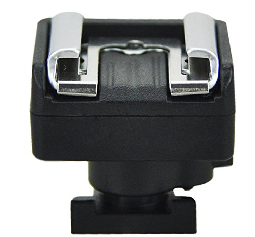 JJC MSA-1 Mini Advanced Hot Shoe To Universal Shoe Adapter For VIXIA HF M30 M300 M31 M32 S10 S100 S11 S20 S200 S21 HF20 HF200 HF21