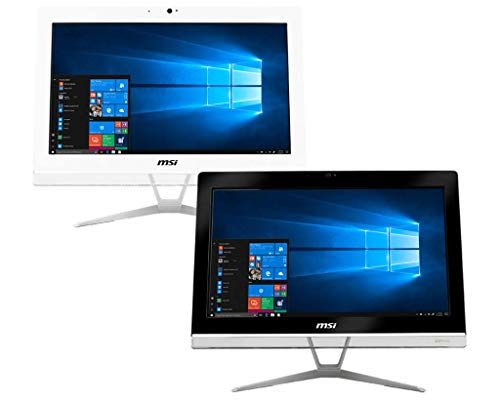 MSI PRO 20EXTS 8GL-051XEU All-in-One PC, Intel Celeron N4000, 8 GB RAM, 256 GB SSD, 19.5-inch, WiFi, Blootooth USB 3.2…