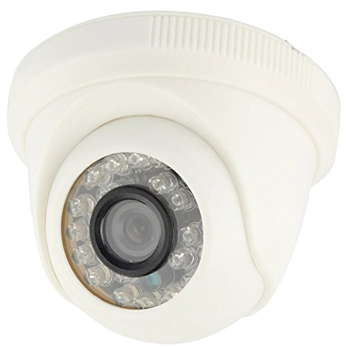 - Home & Security Cameras CMOS 420TVL 3.6mm Lens ABS Material Color Infrared Camera with 24 LED, IR Distance: 20m