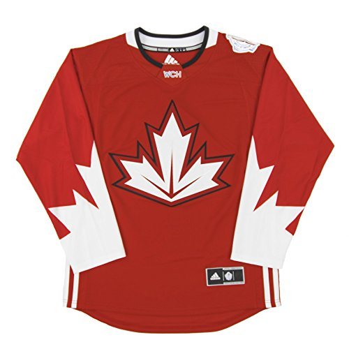 Canada World Cup of Hockey 2016 Red Adidas Premier Men's Jersey (Team Canada Jersey)