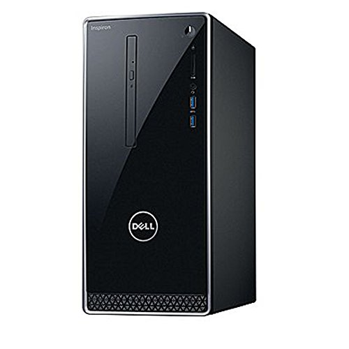 2018 Newest Dell Premium Business Flagship Desktop PC with Keyboard&Mouse Intel Core i5-7400 Processor 12GB DDR4 RAM 1TB 7200RPM HDD Intel 630 Graphics DVD-RW HDMI VGA Bluetooth Windows 10 Pro-Black ()