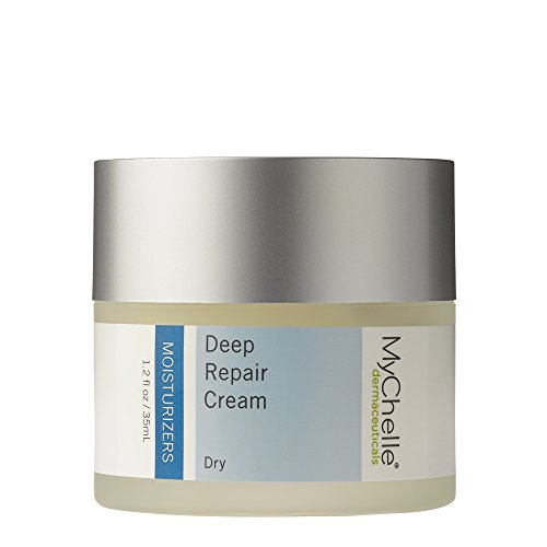 MyChelle Deep Repair Cream, Rich Moisturizer with Rose Hip Oil and Kombuchka for Dry Skin, 1.2 fl oz