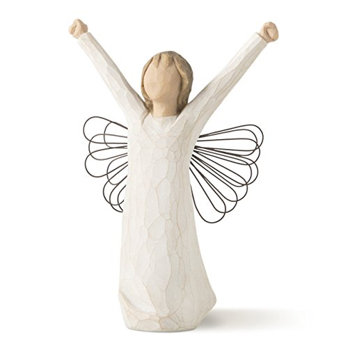 Willow Tree hand-painted sculpted angel, Courage (26149) -