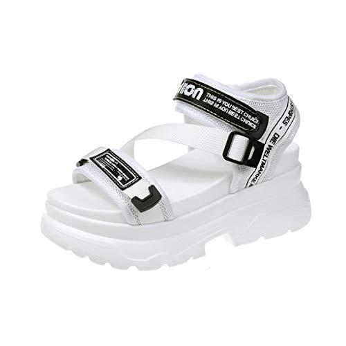 - JJHAEVDY Womens Athletic Sandals Comfort Lightweight Sport Sandals Non-Slip Outdoor Adjustable Strap Slingback Sneakers
