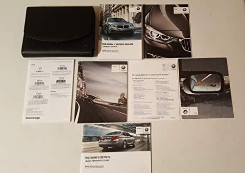 2015 BMW 5 Series Sedan 528i 535i 550i 535d Owners Manual