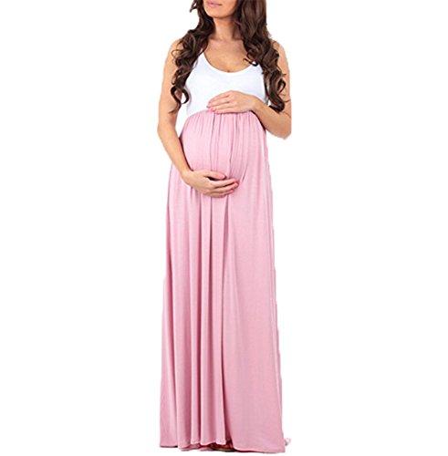 di delle Keephen fotografia del donne incinte delle sui vestiti superiori tubo Rosa misura donne torace elegante di qrrx7tRw