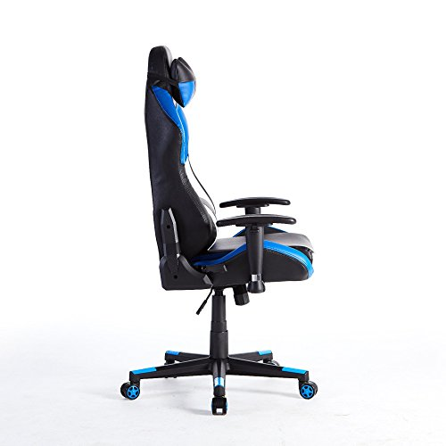 414h4Uxs4YL - HOMEFUN-Ergonomic-Gaming-chair-Racing-Style-with-Bucket-Seat