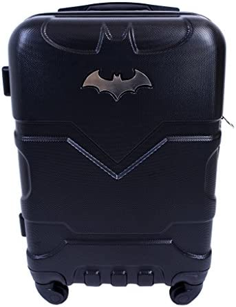 DC comics Men's Luggage, Black