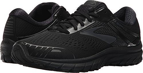 Brooks Men's Adrenaline GTS 18 Black/Black 10.5 EEEE US 4E - Extra Wide