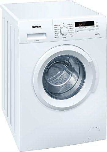 Siemens iQ100 WM14B222 Waschmaschine / 6,00 kg / A+++ / 153 kWh / 1.400 U/min / Schnellwaschprogramm / 15-Minuten Waschprogramm / Hygiene Programm