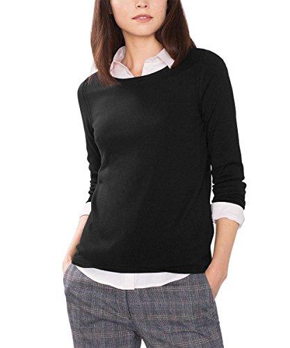 ESPRIT Collection, Suéter para Mujer Negro (BLACK 001)