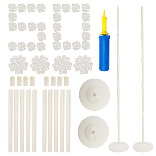 (Balloon Columns Arch - 2 Set Balloon Column Kit 61