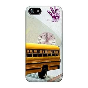 For Iphone 5/5s Tpu Phone Case Cover(skool Daze)
