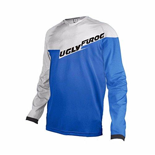 Uglyfrog #DX15 2017 New Outdoor Sports Cycling Long Sleeve BMX Bike Jersey Men Downhill Montain Bike Top