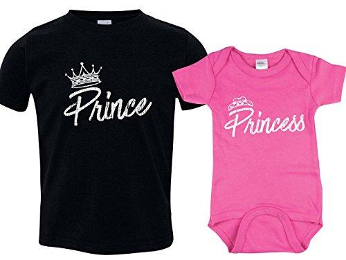 Prince Princess Onesie shirts Matching product image