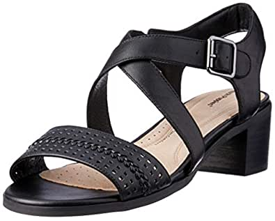 Hush Puppies Women's Kalmia Fashion Sandals Black 5 US