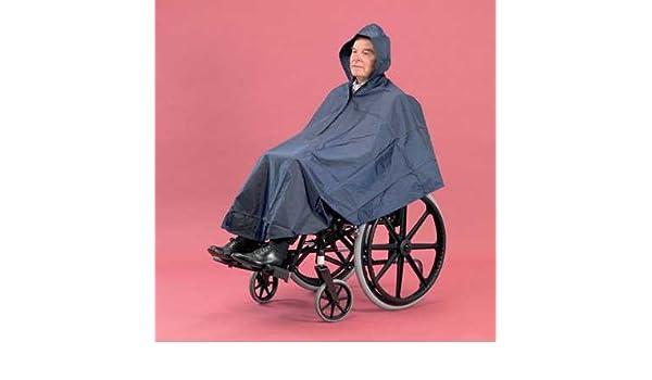 Poncho impermeable para silla de ruedas: Amazon.es: Salud y cuidado personal