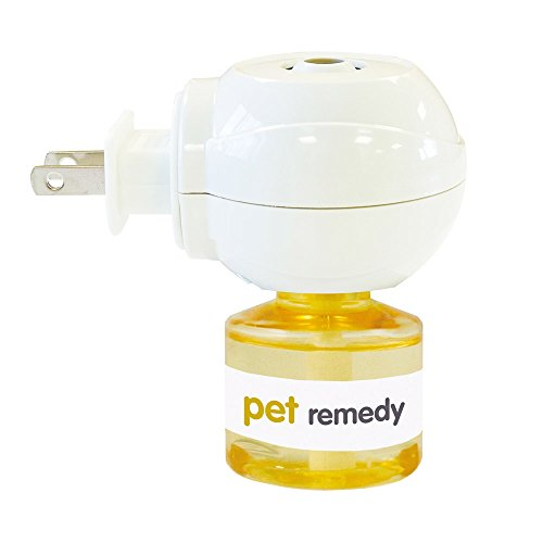 (Pet Remedy Natural De-Stress and Calming Plug-in Diffuser & 40 ml Refill)