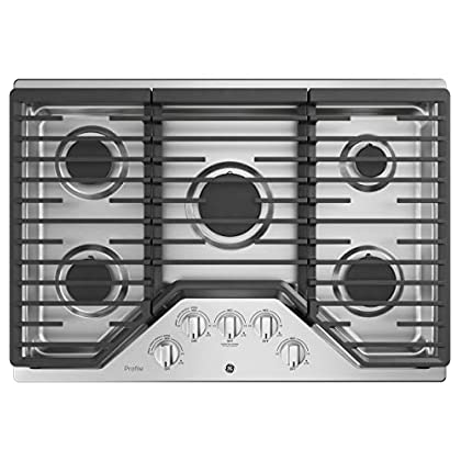 Image of GE PGP7030SLSS 30 Inch Gas Cooktop Home Improvements