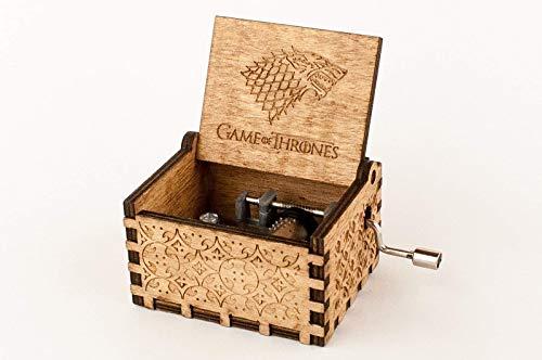 Caja musical de madera grabada Juego de Tronos. Envío gratuito. Vídeo en la descripción.: Amazon.es: Handmade