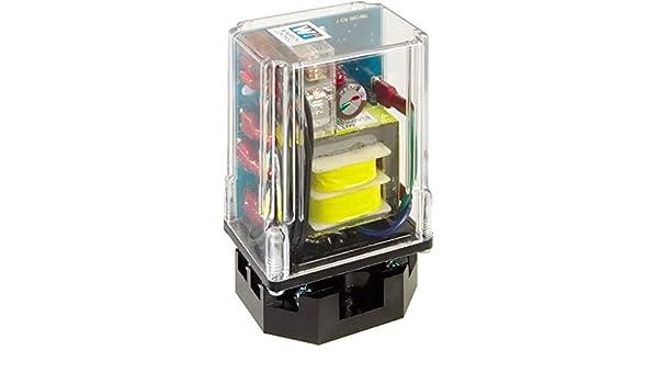 120 VAC Gems Sensors Inc. Gems 16HMJ1A0 16HM Series High Sensitivity Plug-In Module 5M Direct Operation 8 Pin Octal Socket without Enclosure