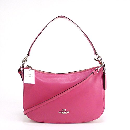 Womens Smooth Leather Chelsea Crossbody