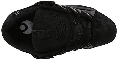 OSIRIS 2001 D3, color gris plateado Negro - negro
