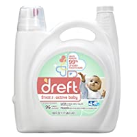 Dreft Stage 2: Active Baby Liquid Laundry Detergent (HE), 150 oz, 96 loads