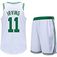 Basketball Celtics Kyrie Irving Swingman Jersey with Shorts White