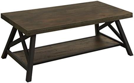 247SHOPATHOME Denice Coffee Table, Brown