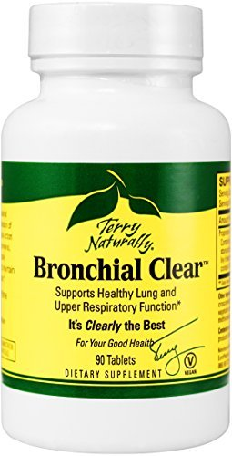 Terry Naturally Bronchial Clear, 90 Tablets (FFP) by Terry Naturally