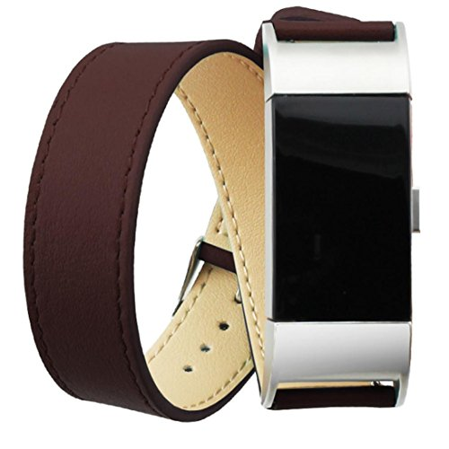 Fitbit Tuscom Leather Bracelet Watchband