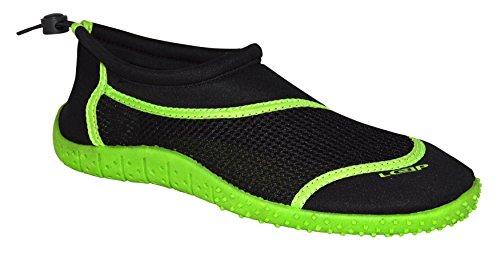 Grün 46 Aquaschuhe Badeschuhe Herren Grün Neopren Jugendliche Schützend LOAP® 36 Schwarz Rosa Strandschuhe Damen HANK BqnPY