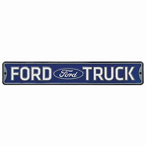 Open Road Brands Ford Truck Embossed Metal Street Sign