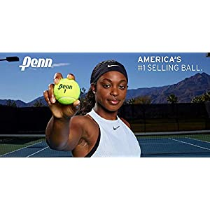 Penn Pressureless Tennis Balls - Non-Pressurized Training / Practice Tennis Balls
