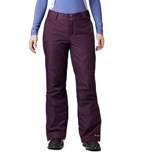 Columbia Women's Bugaboo Omni-Heat Pant, Black Cherry, Small Regular (Womens Waterproof Snowboard Pants)