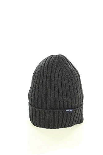 Woolrich Coste Wool In Grey 112 100 Grigio A Beenie Hat Woacc1373 lana Antracite Maglia ac93 Berretto ngxnPrRCq