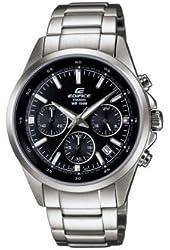 Casio Men's Edifice Chronograph Black Dial Stainless Steel