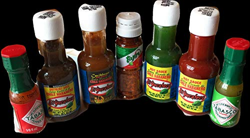 c1e986daec5c Jual Hot Sauce Minis 7 bottles of El Yucateco