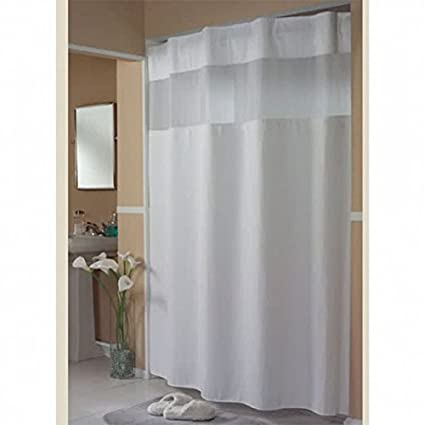 Image Unavailable Not Available For Color Hookless Fabric Shower Curtain
